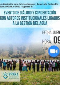 Afiche del Evento de Diálogo